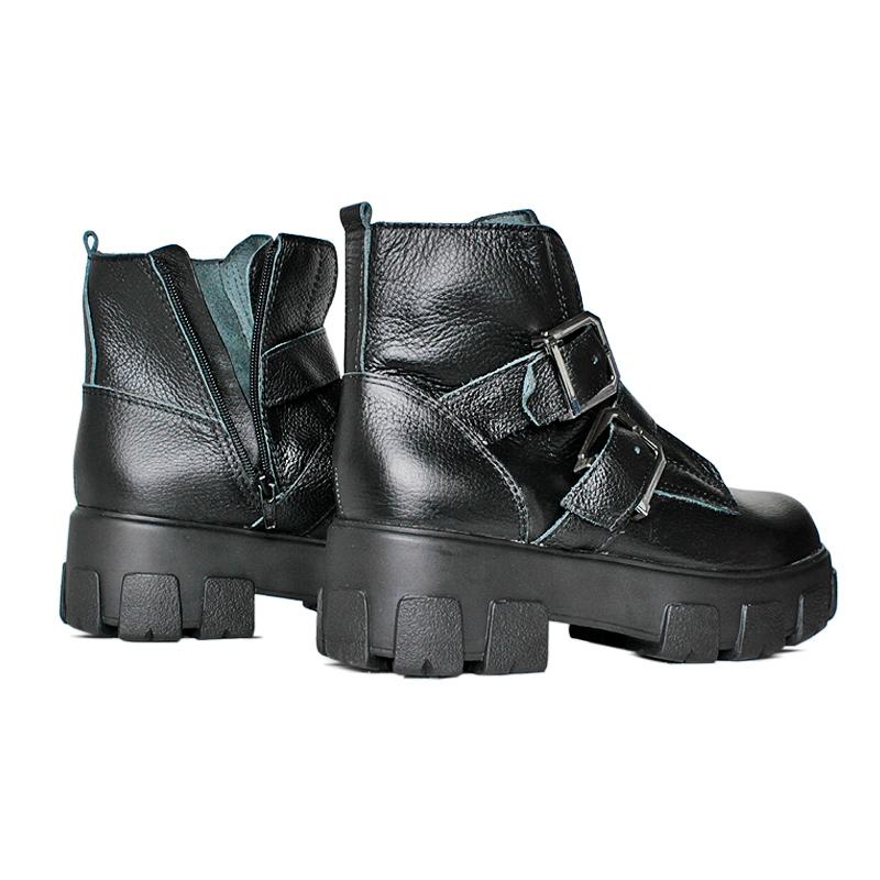 Chunky boot preto 1