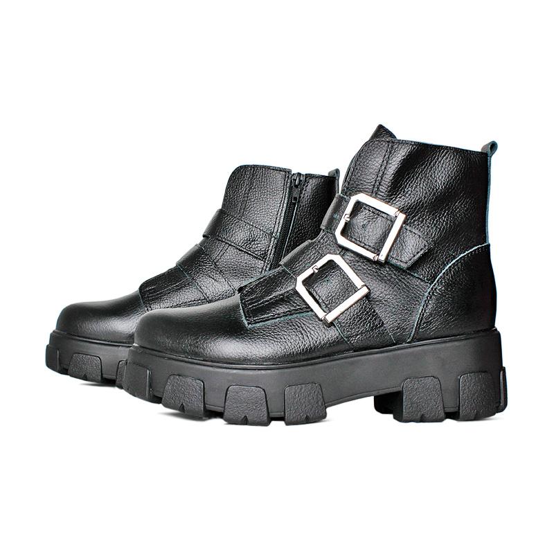 Chunky boot preto 3