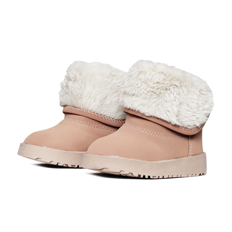 Kids snow boot boot nude 18 a 27 1