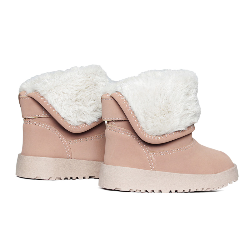 Kids snow boot boot nude 18 a 27 2