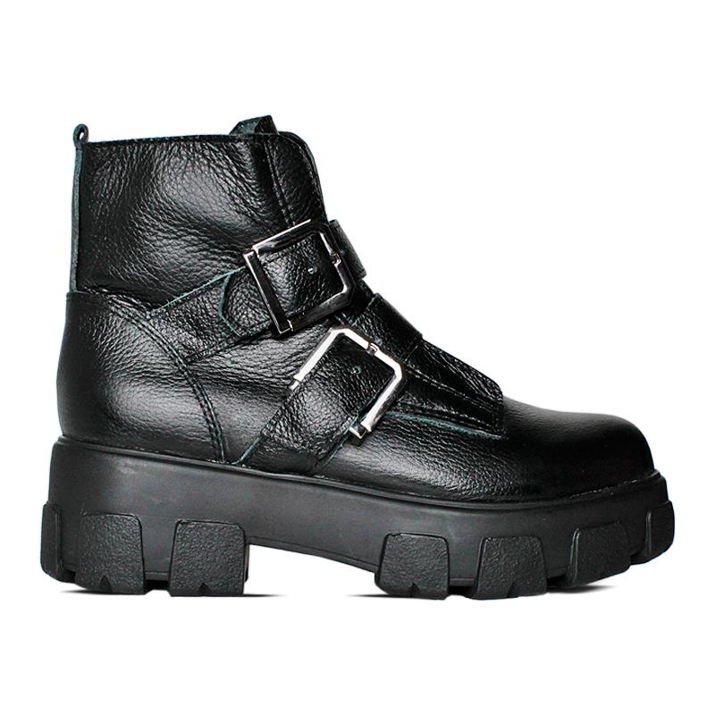 Chunky boot preto 4