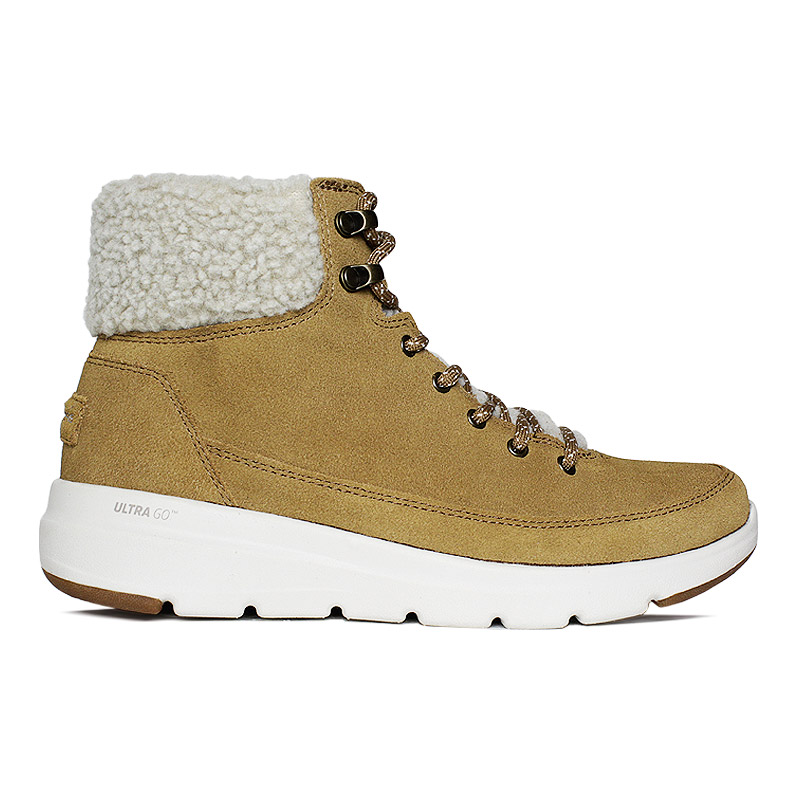 Skechers glacial ultra boot caramelo 4