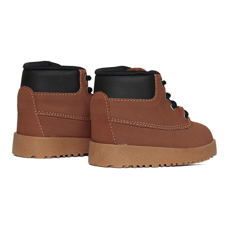 Kids montain boot caramelo preto 18 a 27 1