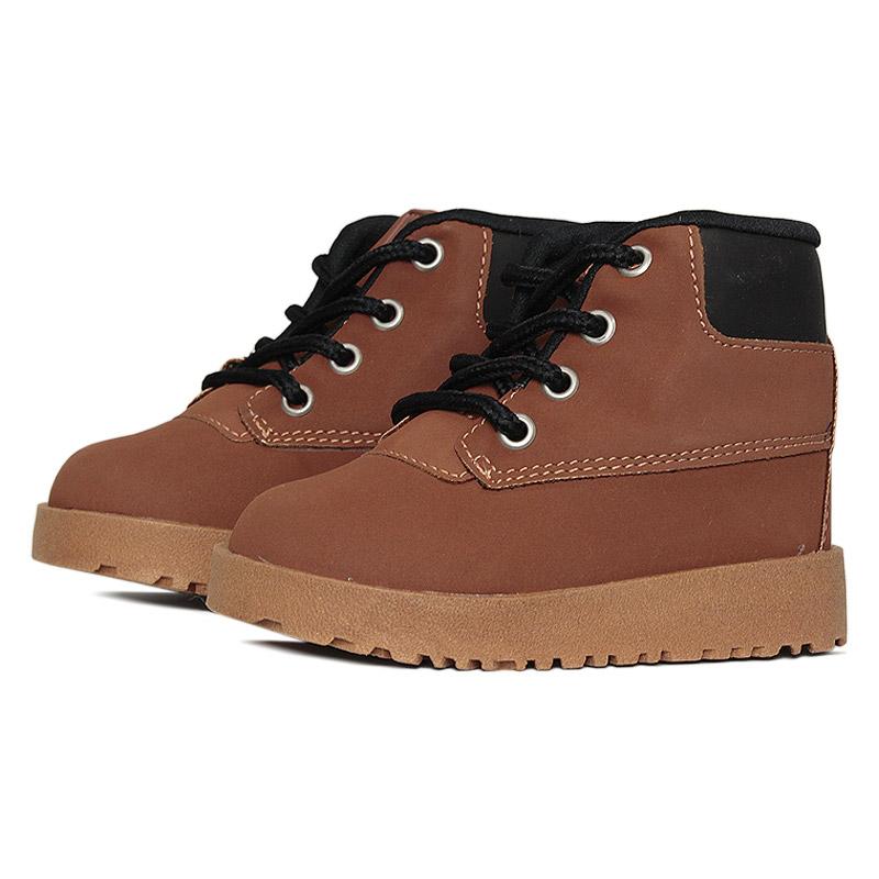 Kids montain boot caramelo preto 18 a 27 2