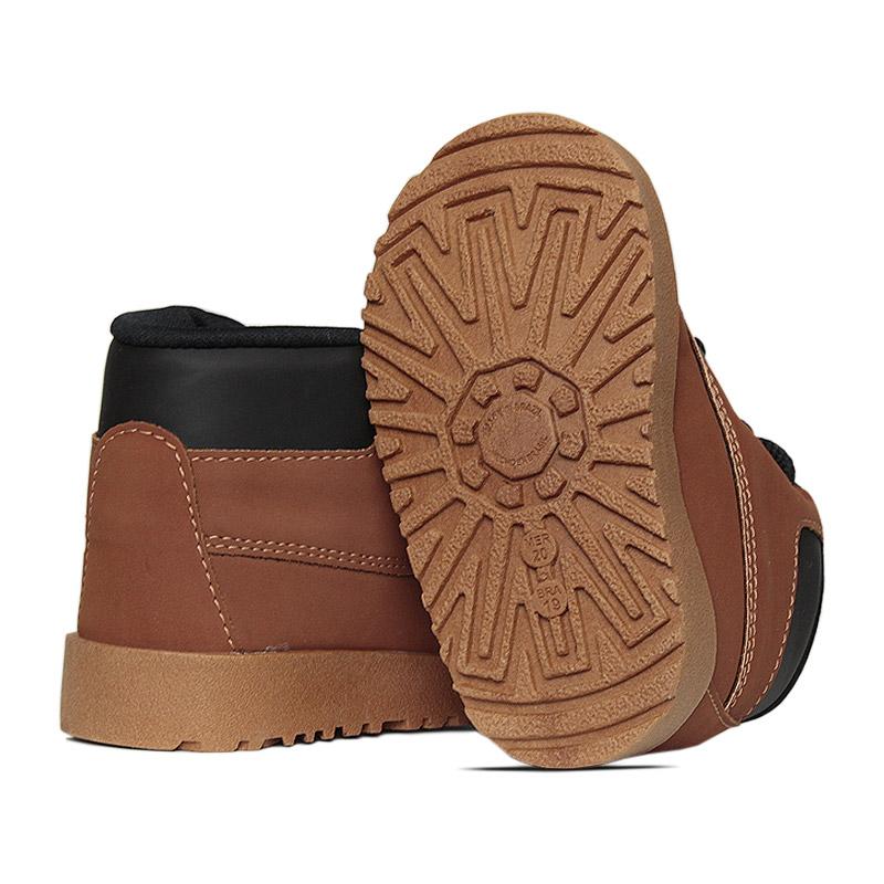 Kids montain boot caramelo preto 18 a 27 3