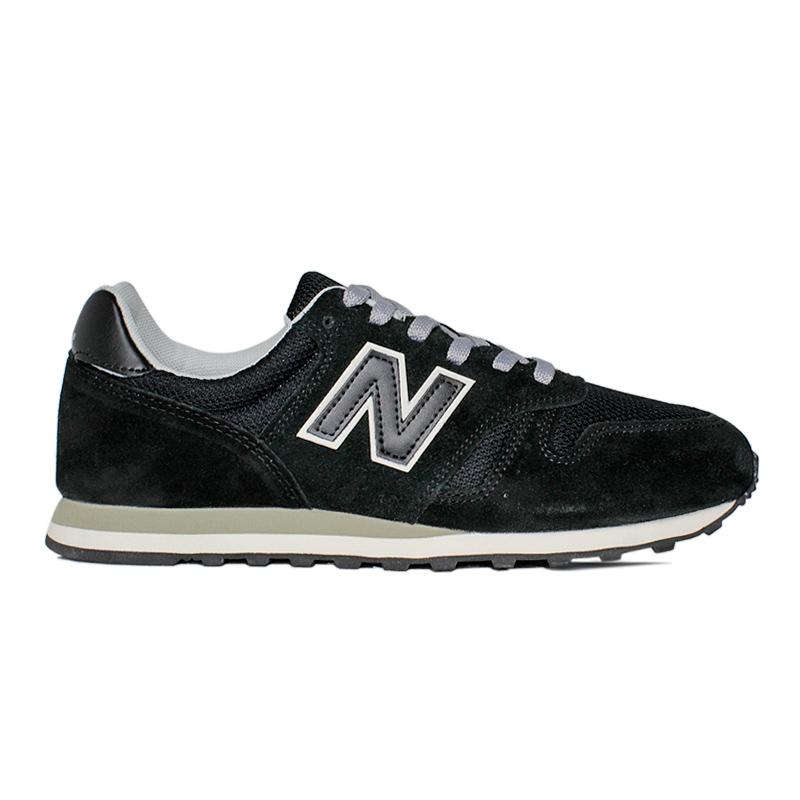 New balance 373 masculino preto branco 4