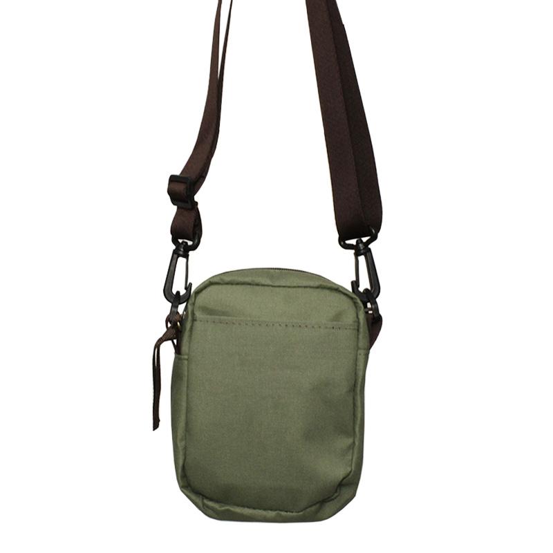 Mini bag convexo verde hedge 1