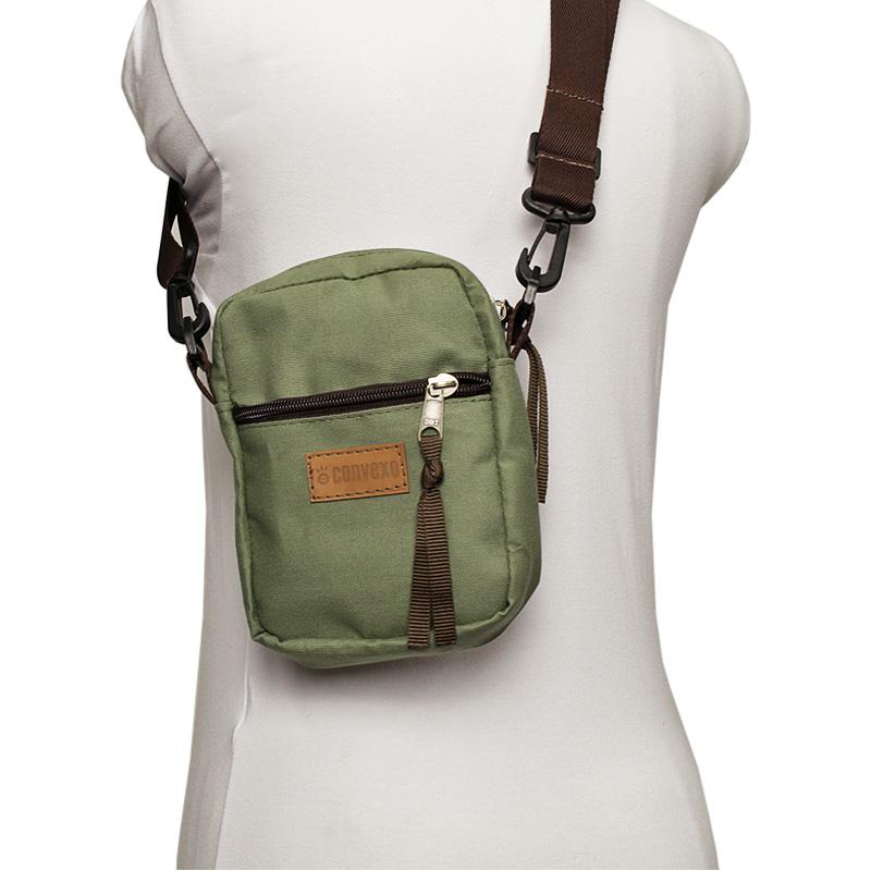 Mini bag convexo verde hedge 2