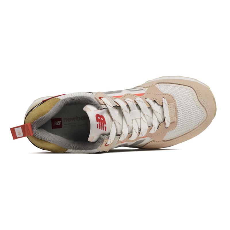 New balance 574 cr branco rosa 3