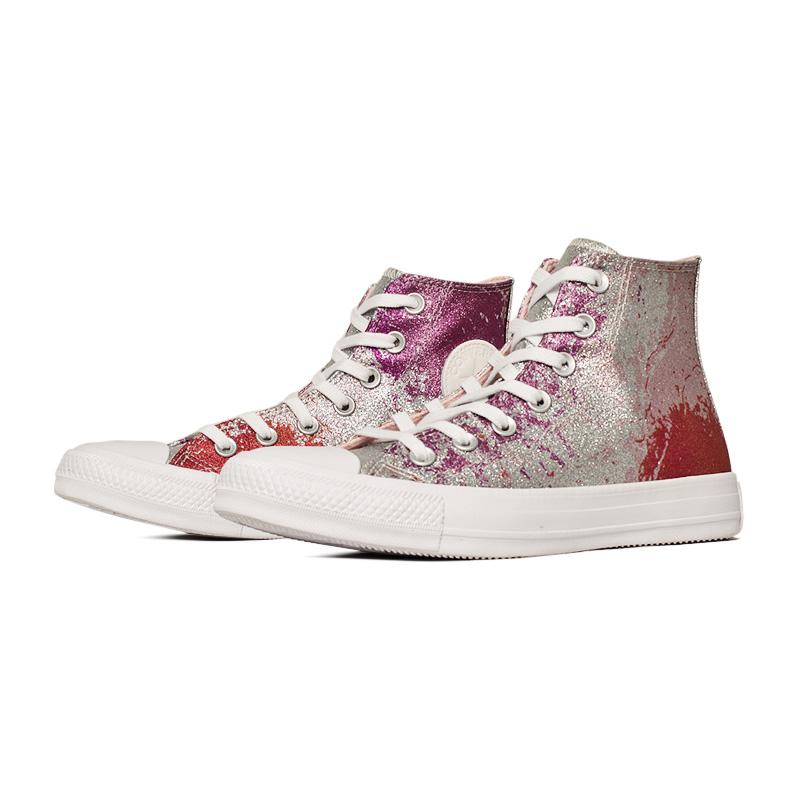 All star rosa sal pink flur branco 1