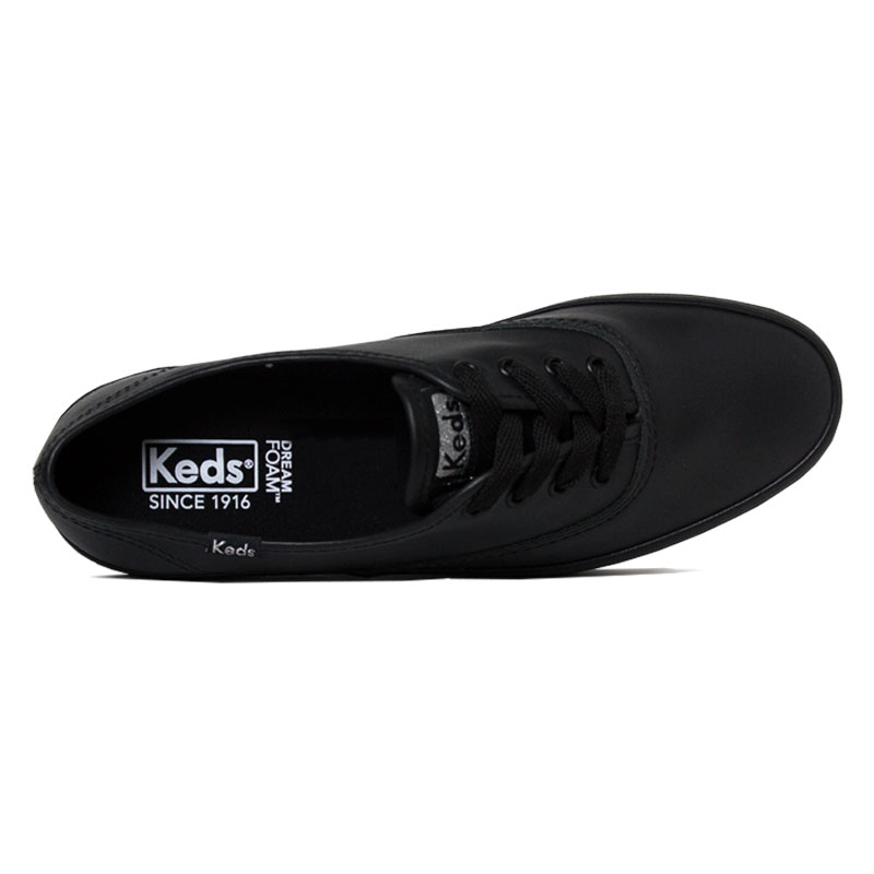 Keds triple leather preto preto 2