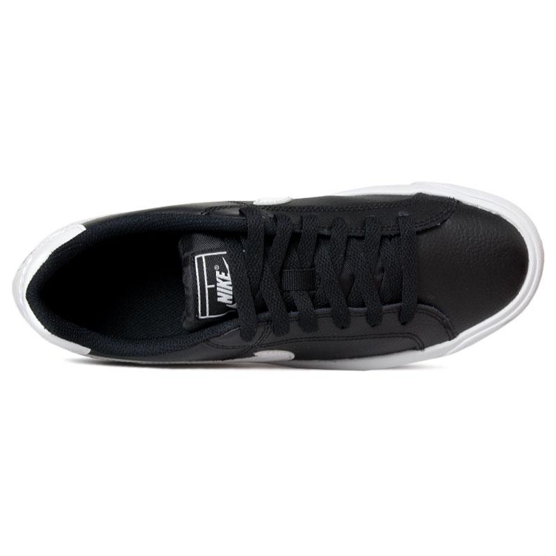 Nike court royale ac black white 1