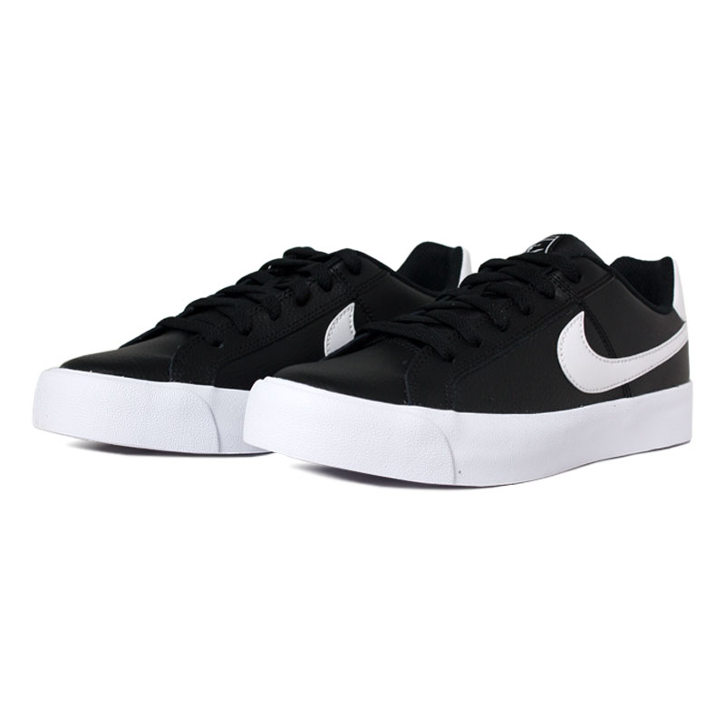 Nike court royale ac black white 2