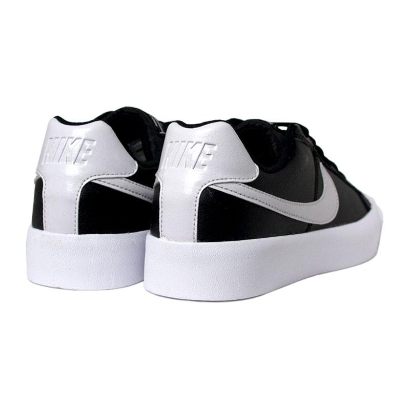 Nike court royale ac black white 3