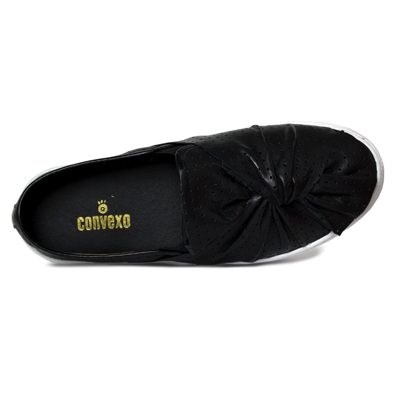 Slip on laco multipontos preto 2