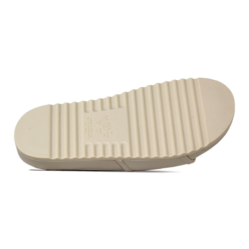 Slide convexo fosco off white 2