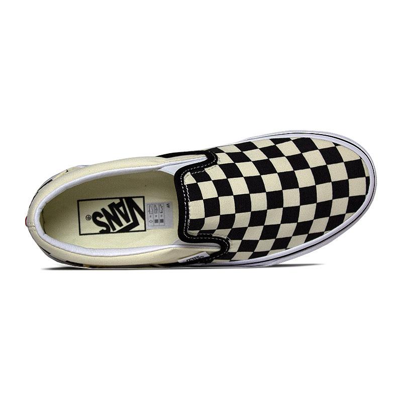 Tenis vans classic slip on checkerboard 2